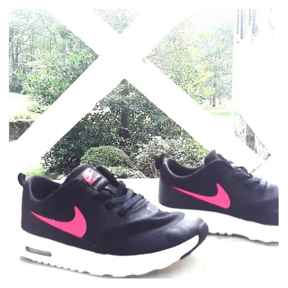 nike air max thea black pink